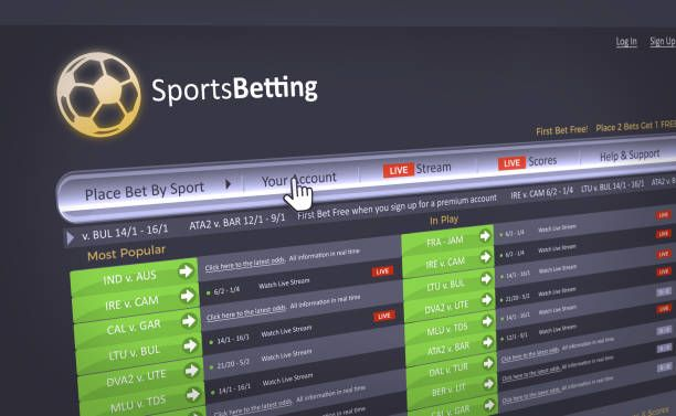 Singapore Pools Sports Betting Slip